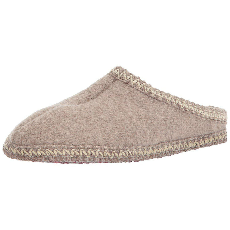 HAFLINGER Men's As Classic Slipper - Natural / 10 Women/8 Men