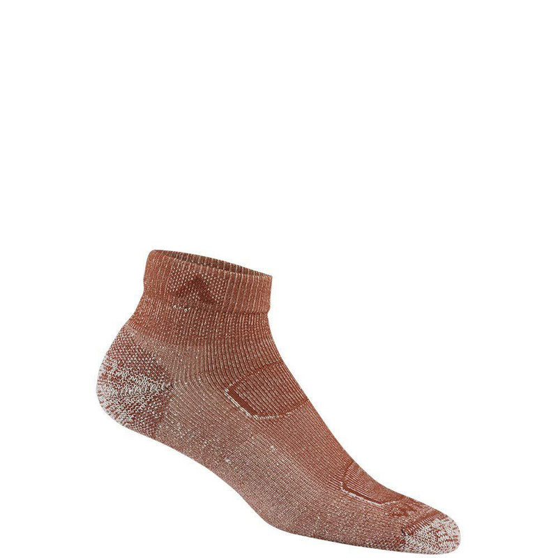 Wigwam Merino Comfort Ascent Lite Quarter F2433 Sock - Burnt Henna / Medium