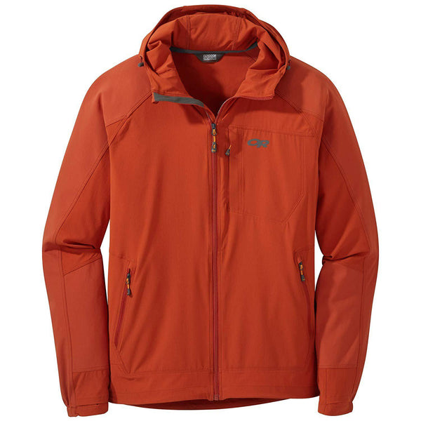 Outdoor Research Men's Ferrosi Hooded Jacket - Burnt Orange / Medium