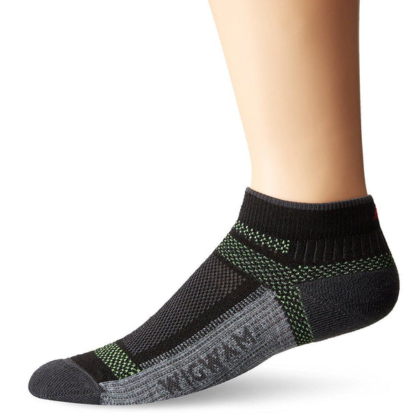 Wigwam Men's Ultra Cool-Lite Ultimax Low Sock - Black / Large (Men 9-12/Women 10-13)