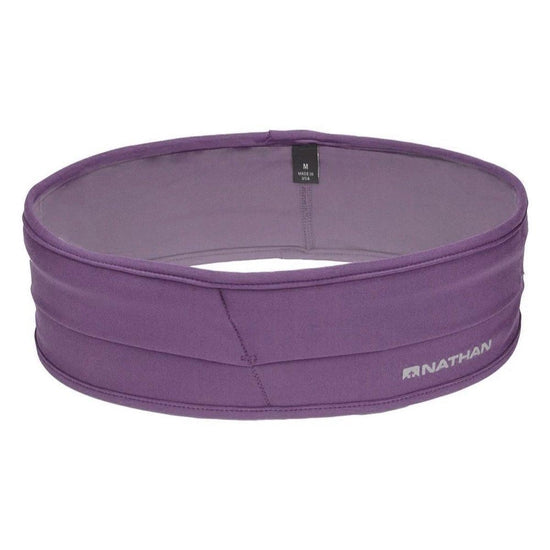 Nathan The Hipster Running Belt pack and Fitness Belt - Montana Grape / Large