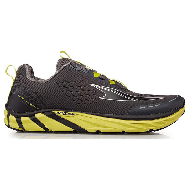 Altra Men's Torin 4 Road Running Shoe - Gray / Lime / 10