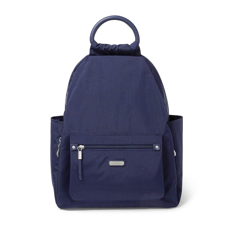 Baggallini All Day Backpack with RFID Phone Wristlet (Navy) - Navy