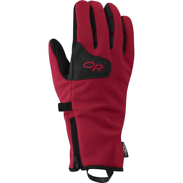 Outdoor Research Men's Storm Tracker Sensor Gloves - Chili / Small