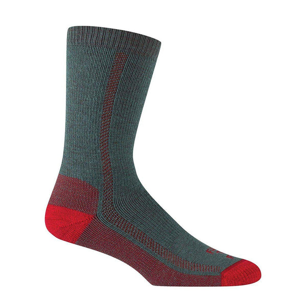 Farm to Feet Men's Madison Midweight Hiking Socks - Balsam Green / Large