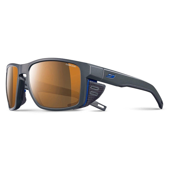 Julbo Shield Sunglasses - Cameleon - Dark Gray/Black/Blue