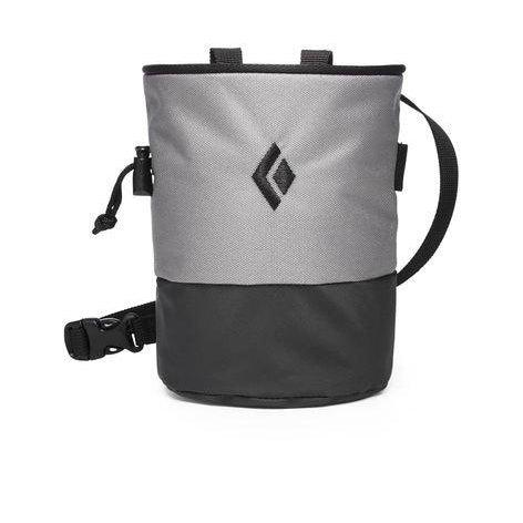 Black Diamond Mojo Zip Chalk Bag - Ash / M/L
