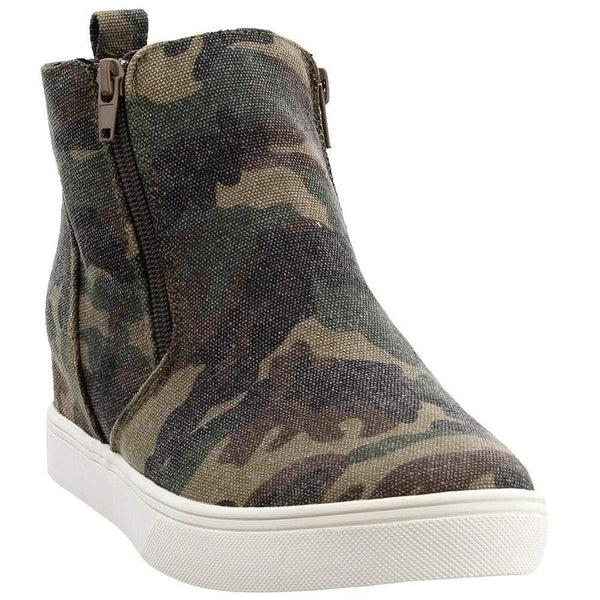 Corkys Womens Hunt Casual Sneakers - Camouflage / 10