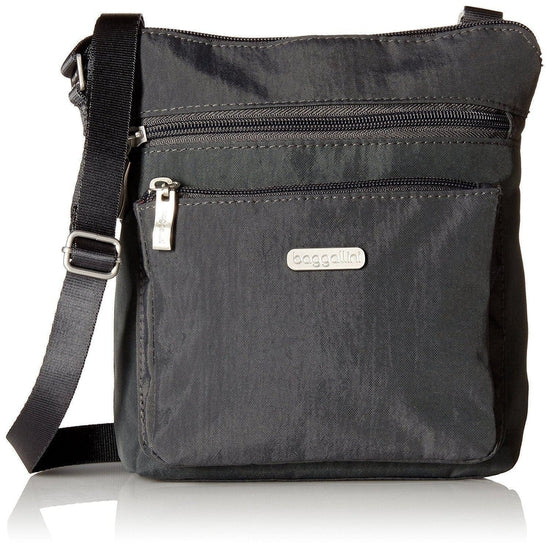 Baggallini Pocket Crossbody - Charcoal / One Size