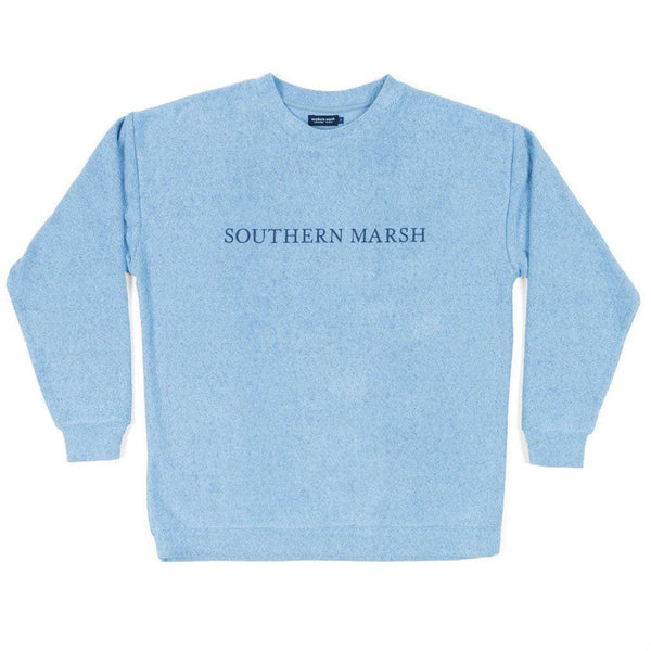 Southern Marsh Sunday Morning Sweater - French Blue / X-Small