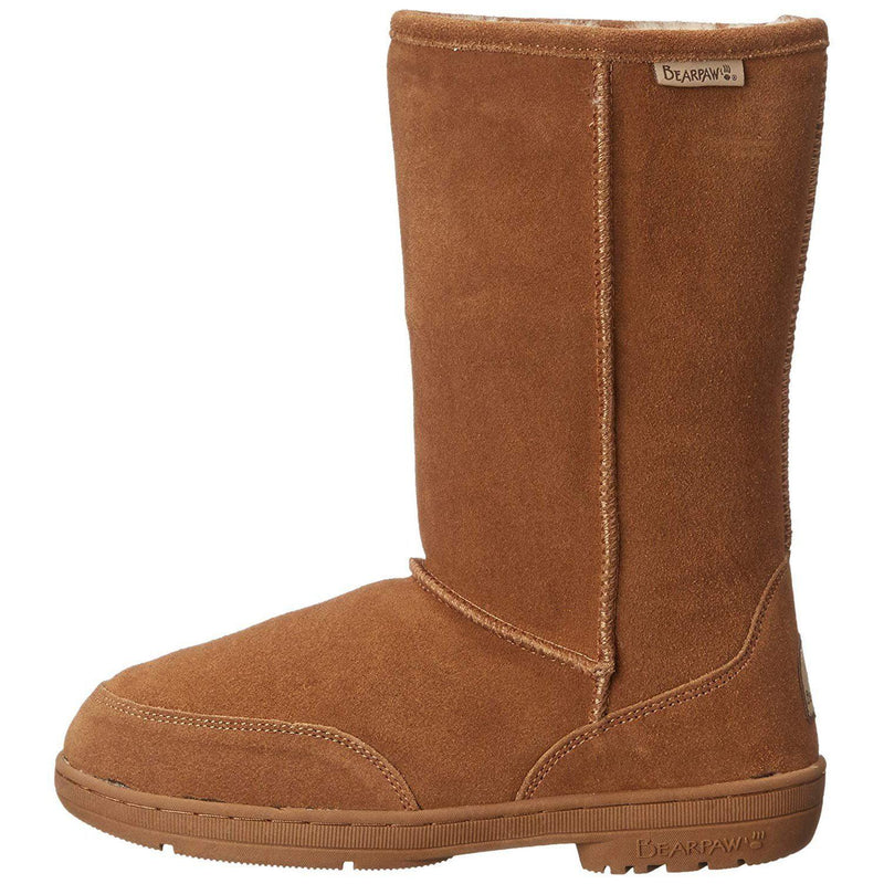 BEARPAW Women's Meadow Mid Calf Boot - Hickory II / 10
