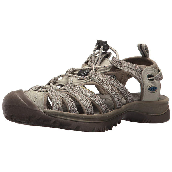 KEEN Women's Whisper Sandal - Agate Grey/Blue Opal / 6