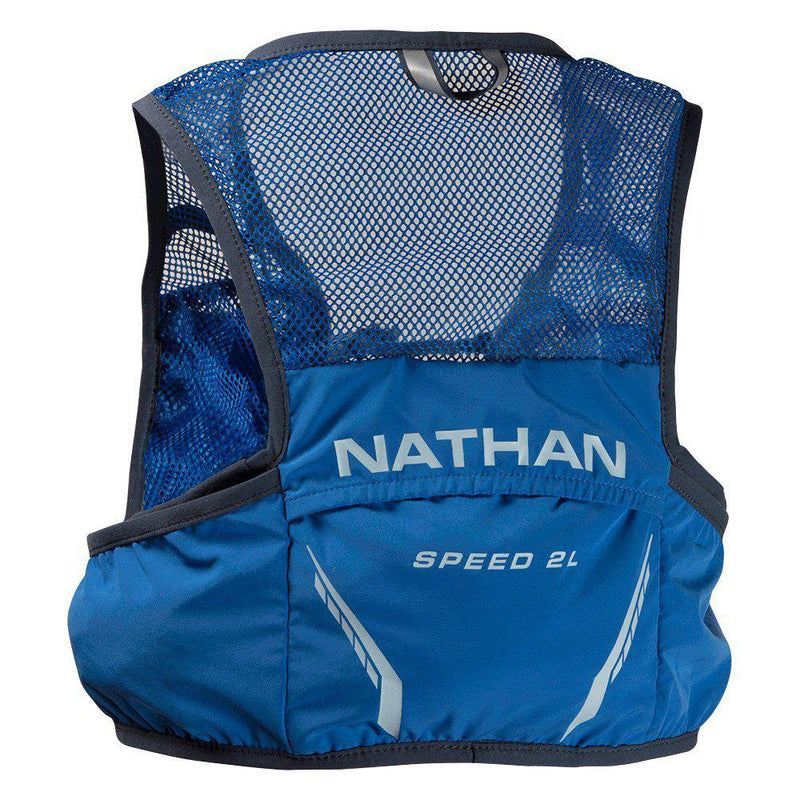 Nathan Men's Speedster 2L Hydration Vest - BLUE / Large