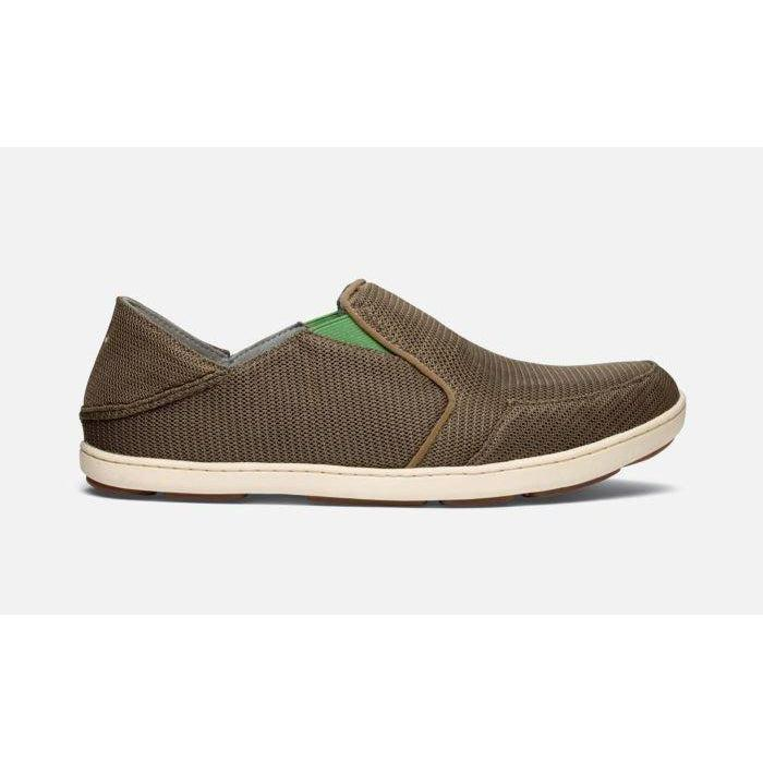 OluKai Men's Nohea Mesh Shoe - Mustang/Lime Peel / 9