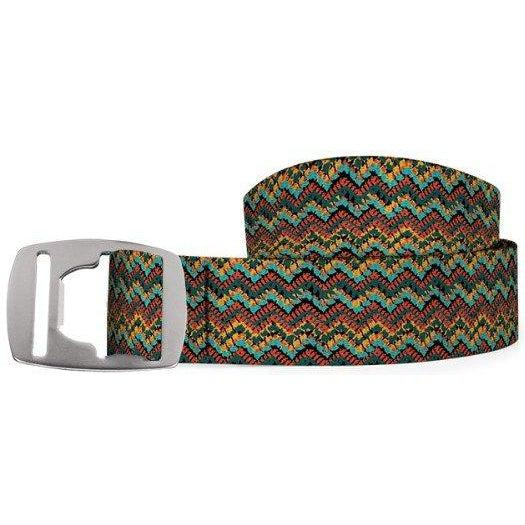 Croakies Belt - Crochet/Silver / OS