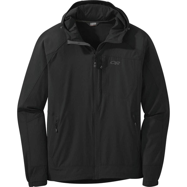 Outdoor Research Men's Ferrosi Hooded Jacket - Black / Large