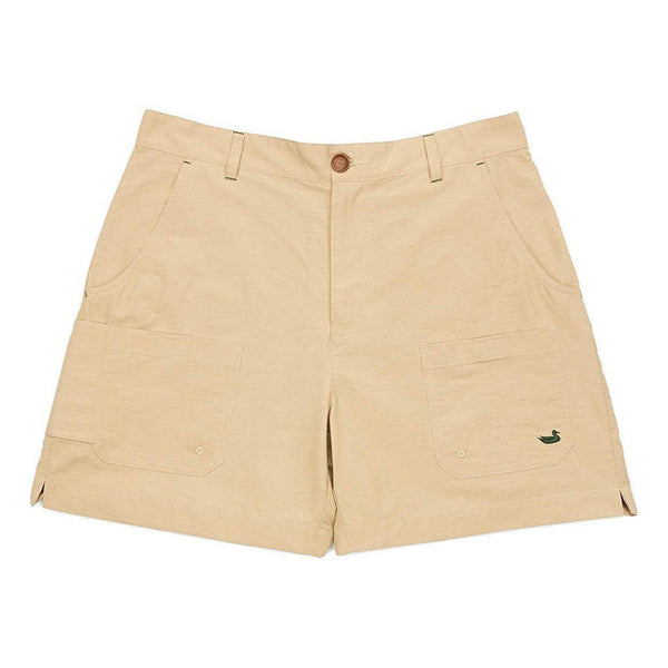 Southern Marsh Tarpon Flats Fishing Short - Khaki / Large