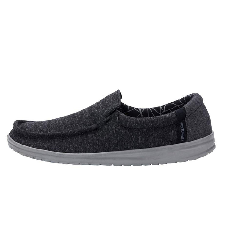 Hey Dude Adult Men's Mikka Stretch Loafer - Black / 11