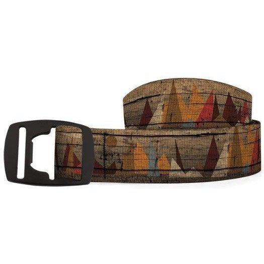 Croakies Belt - Alpine Browns/Black / OS