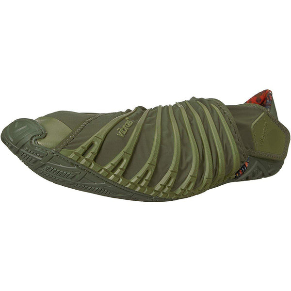Vibram Men's Furoshiki Casual Everyday Travel Shoe - Olive / 42 EU/9-9.5