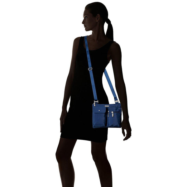 Baggallini Everything Crossbody Bag – Slim and Sleek, Lightweight, Multi-Pocketed Travel Bag with Removable Wristlet - [variant_title]