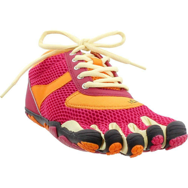 Vibram Fivefinger Women's Speed Running Shoe - Rose/Pumpkin / 9.5