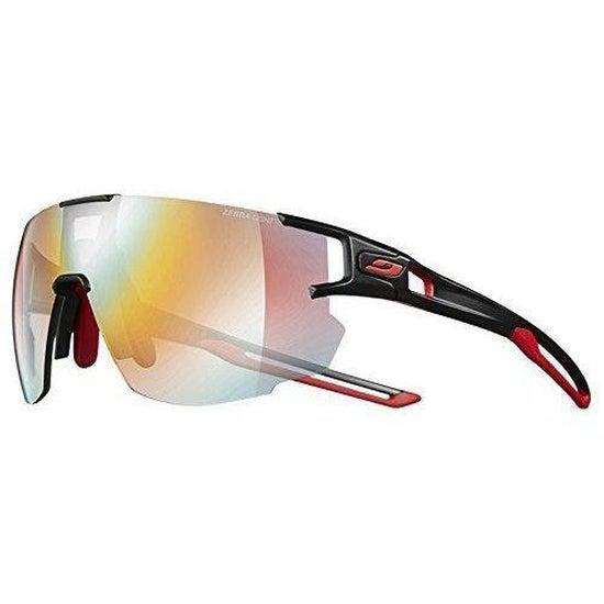 Julbo Aerospeed Sunglasses - Zebra Light - Black/Red/Red