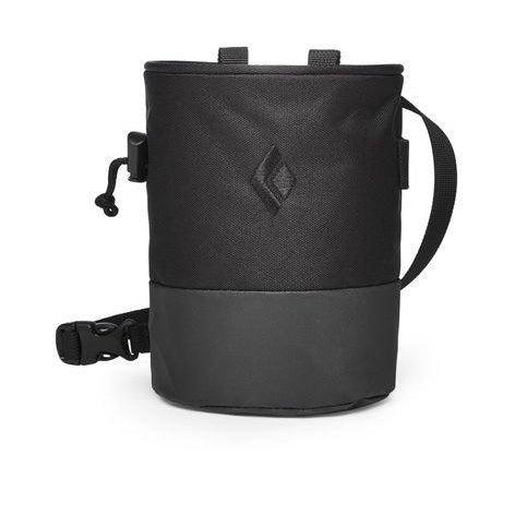 Black Diamond Mojo Zip Chalk Bag - Black / M/L