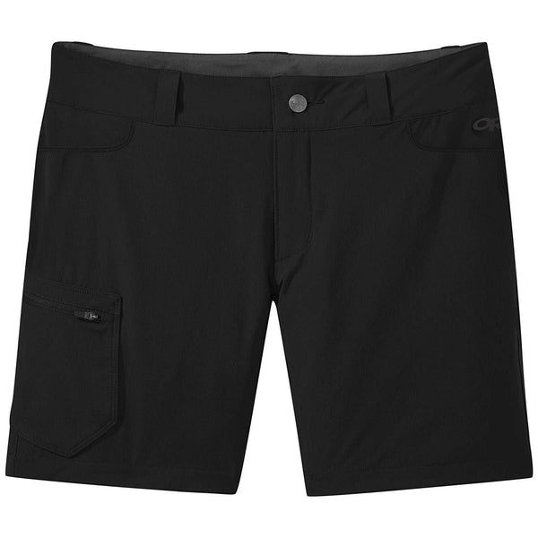"Outdoor Research Women's Ferrosi Shorts -7"" - Black / 0"