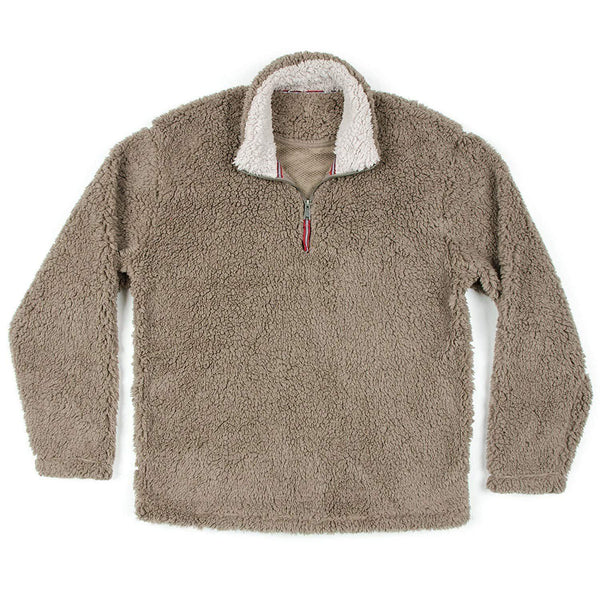 Southern Marsh Appalachian Pile Pullover - Light Brown / Large