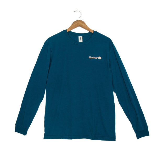 Fayettechill Backcountry Long Sleeve Shirt - Medium / Tidal Teal