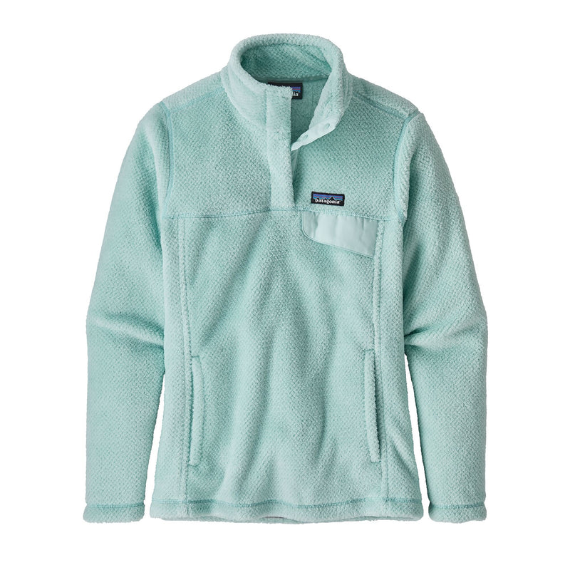 Patagonia Women's Re-Tool Snap-T® Fleece Pullover - Atoll Blue X-Dye / S