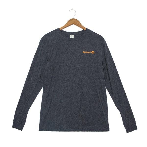 Fayettechill Backcountry Long Sleeve Shirt - Small / Black Heather