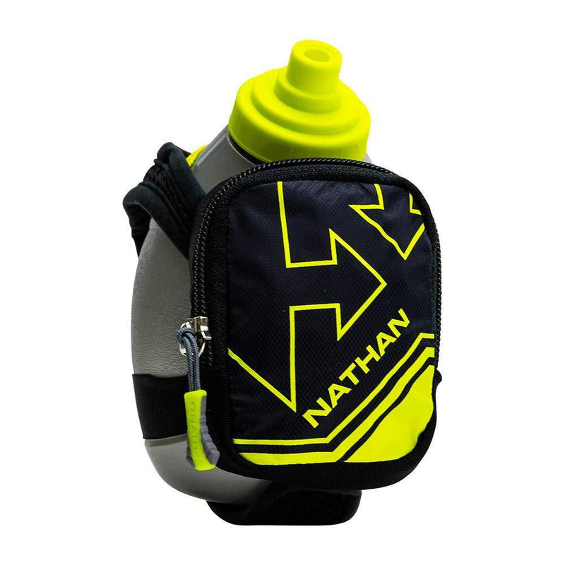Nathan Quick Shot Plus Handheld Hydration Pack - Black/Yellow