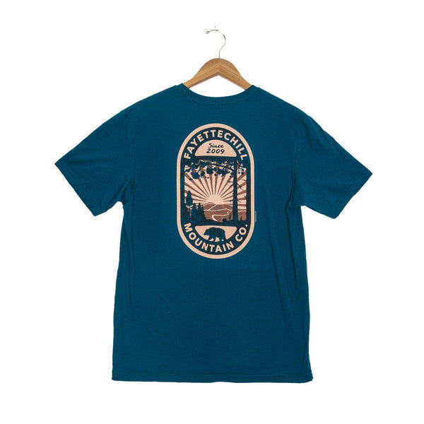Fayettechill Backcountry Short Sleeve Shirt - Glass Blue / Large