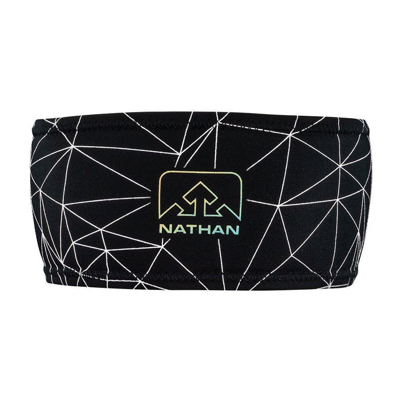 Nathan REFLECTIVE HEADBAND - one size / Black