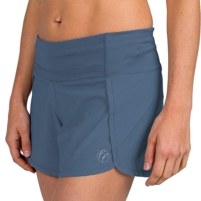 Free Fly Women's Bamboo-Lined Breeze Short - Shadow Blue / Large