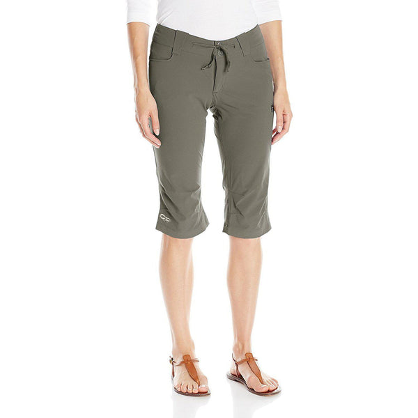 Outdoor Research Women's Ferrosi Capris - Mushroom / 2
