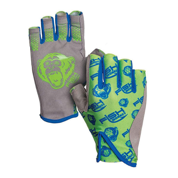Fish Monkey Pro 365 Guide Glove - Neon Green / Large