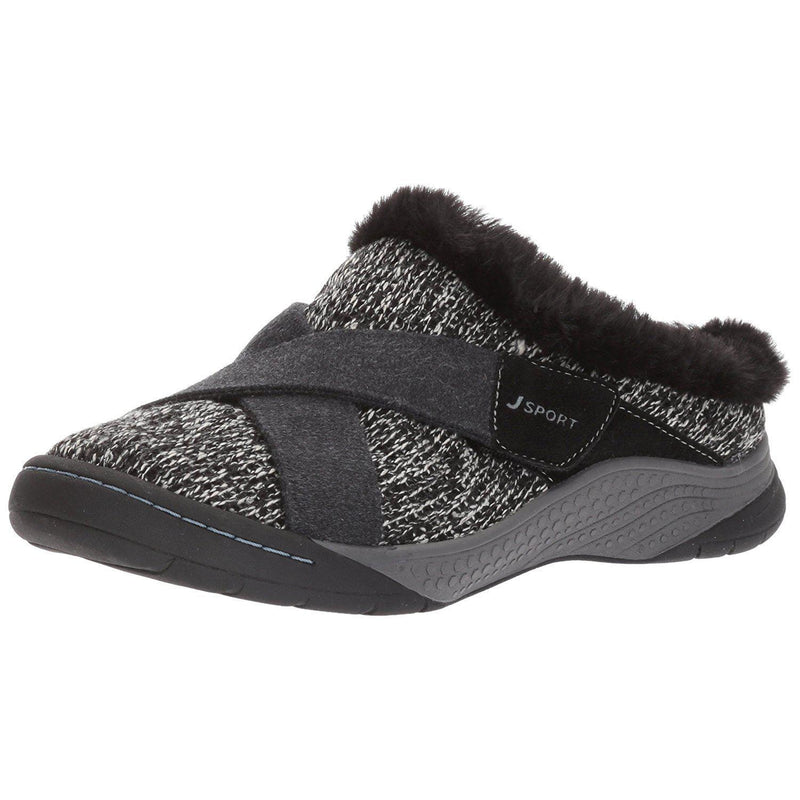 JSport by Jambu Women's Graham Mule - Black / 6