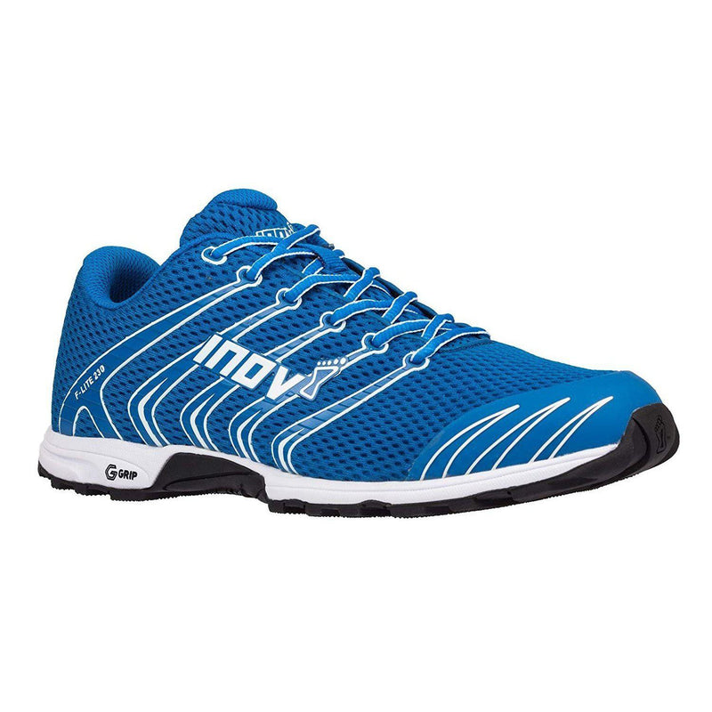 Inov-8 Unisex F-Lite 230 | Original Cross Training Fitness Athletic Sneaker | Minimalist Trail and Road Running Racing Flat Shoe - Blue/White / 11