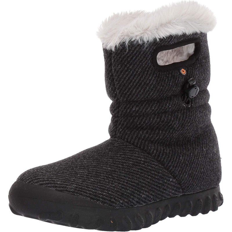 BOGS Women's BMOC Wool Snow Boot - Black / 10