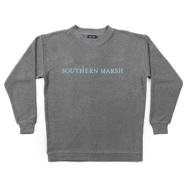 Southern Marsh Sunday Morning Sweater - Burnt Taupe / Large
