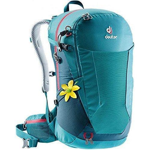 Deuter Futura 26 SL Hiking Backpack with Detachable Rain Cover - Petrol/Arctic / One Size
