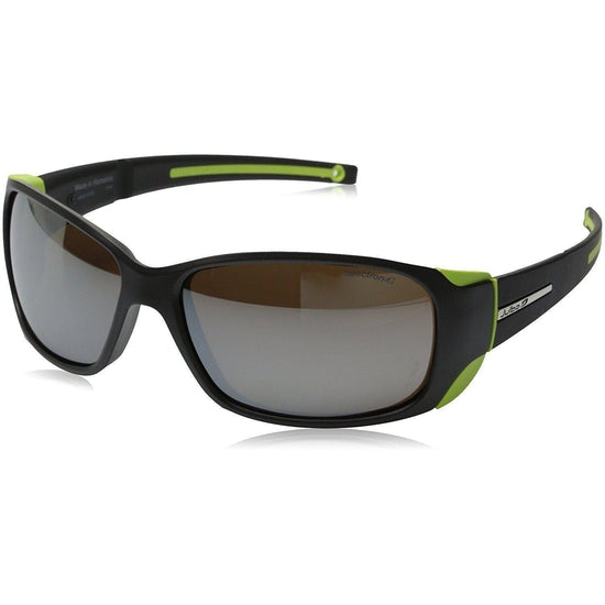 Julbo Montebianco Mountain Sunglass - Matt Black/Lime
