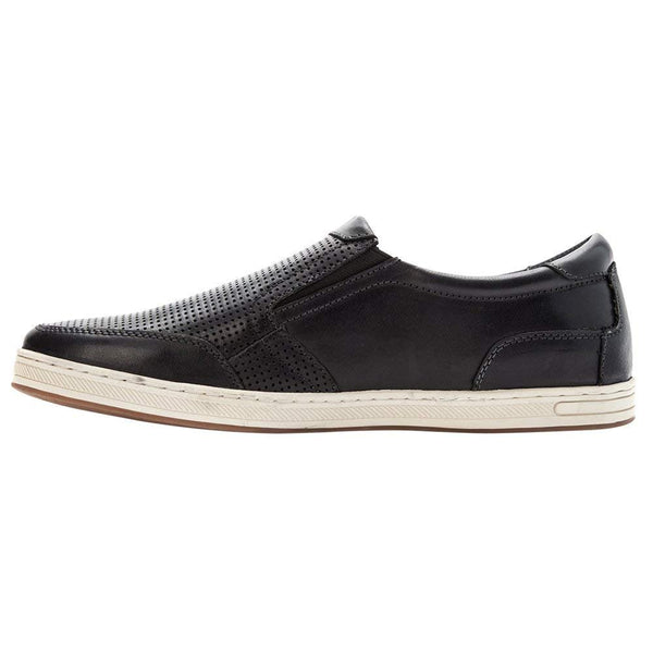 Propét Propet Men's Logan Nubuck, Nylon, Polyurethane, Rubber Slip On Sneakers - [variant_title]