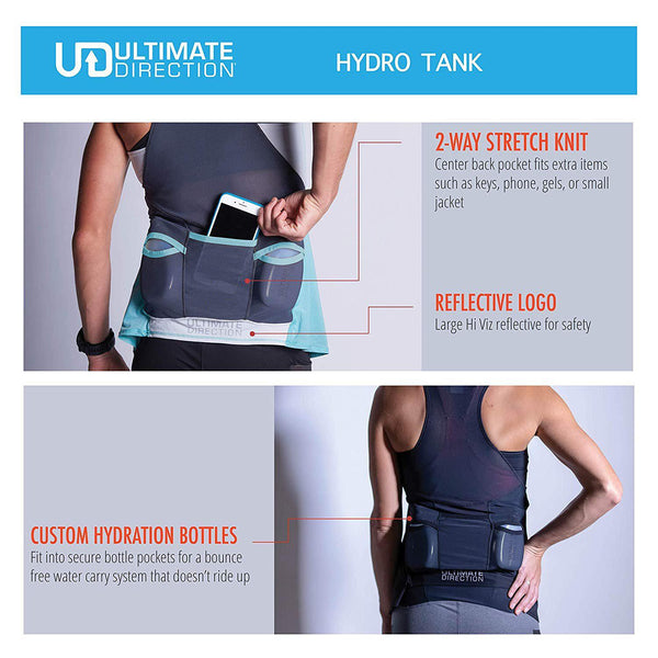 Ultimate Direction Womens Hydro Tank Running Top - [variant_title]