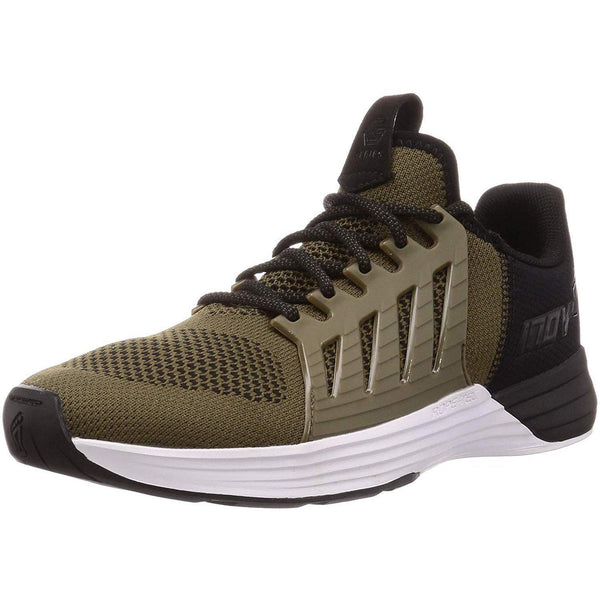 Inov-8 Mens F-Lite G 300 - Versatile Cross Training Shoes - Lifting Stabilizer - Khaki/White / 12