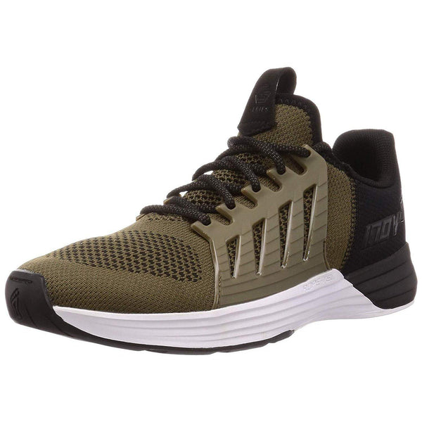 Inov-8 Mens F-Lite G 300 - Versatile Cross Training Shoes - Lifting Stabilizer - Khaki/White / 10