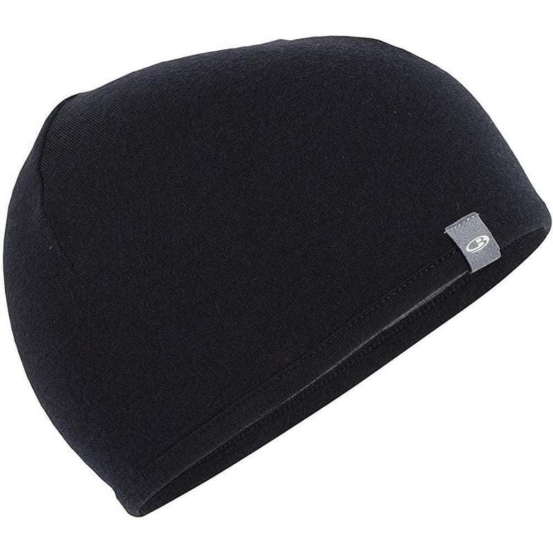 Icebreaker Adult Pocket Hat - Black/Gritstone Heather / OS